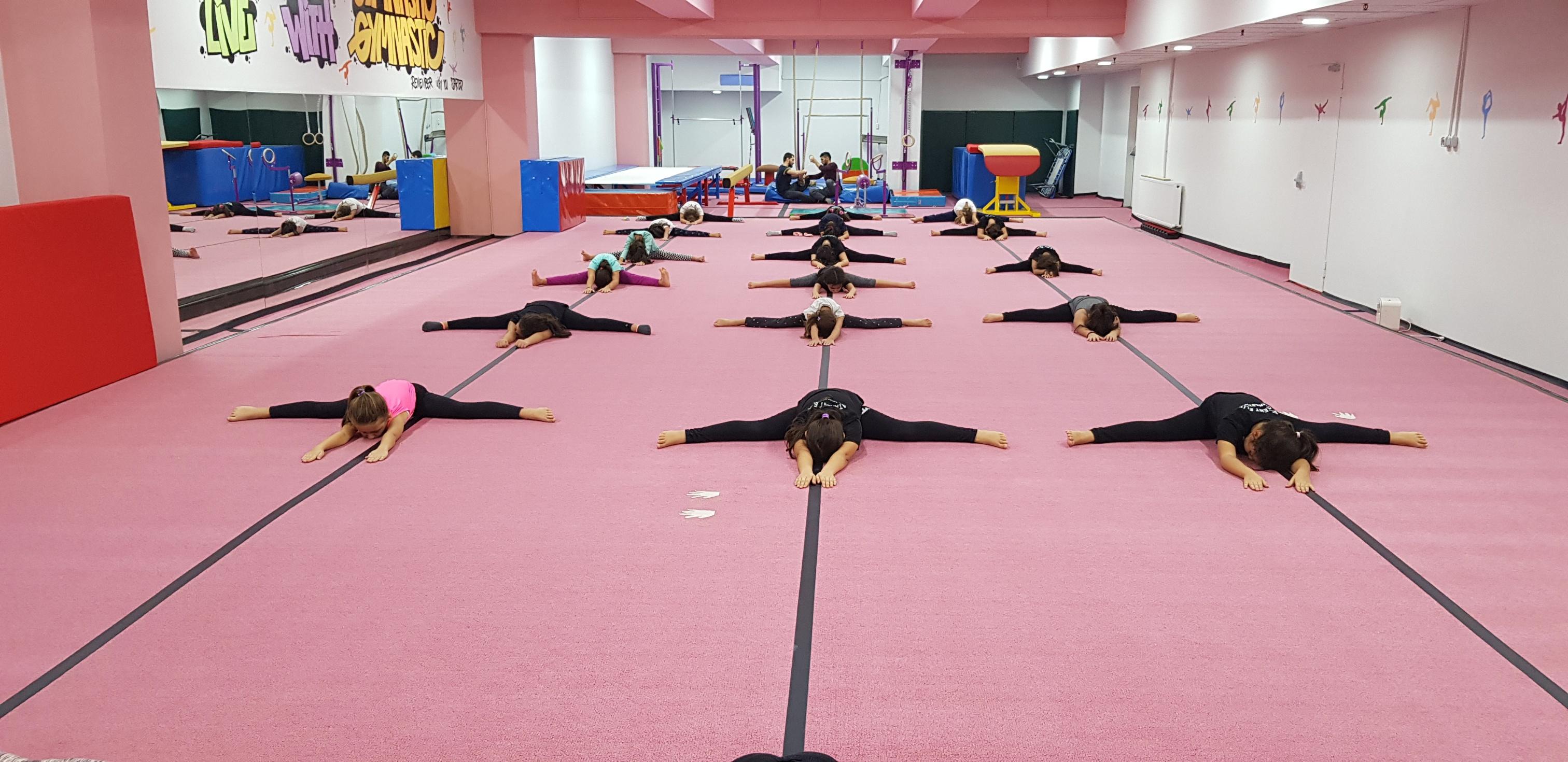 Jimnastik Antrenmanımızdan Kareler