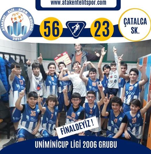Uniminicup Ligi 2006 Grubu Finaldeyiz